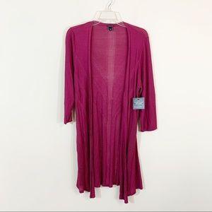 Torrid • Berry Pontelle Cardigan Size 1=14/16=1X